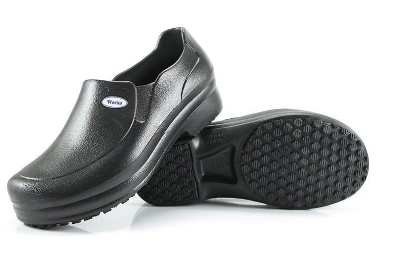 ee2f4629990 Sapato Profissional Soft Works Antiderrapante Branco