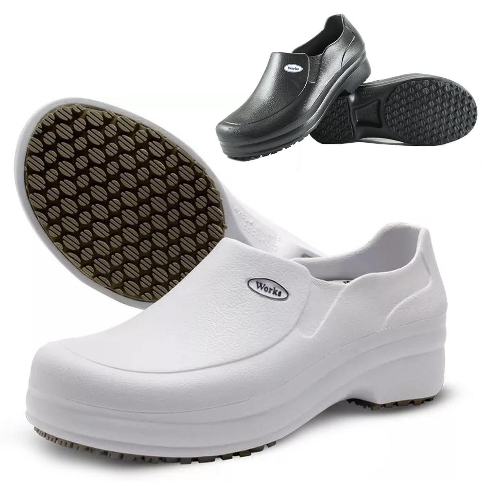 Sapato Profissional Soft Works Antiderrapante Branco b55d7328e3