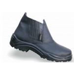 Botina de Segurança Preto com Elástico Sem Bico (Ref. AZ0293)