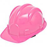 Capacete de Segurança EPI c/ Carneira Classe B Rosa (Ref. AZ0600)